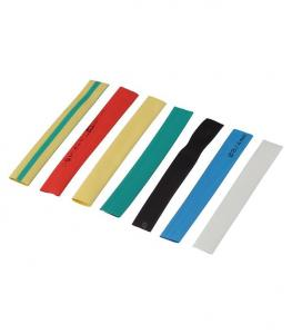 Термоусаживаемая трубка ТУТ 2/1 набор 7 цветов по 3шт