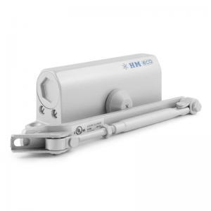 Доводчик Nora-M 530 ЕСО (50-90 кг) (серебро), морозостойкий
