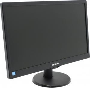 "Монитор ЖК PHILIPS 193V5LSB2 18""5, черный"