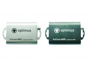 Optimus EoCoax-400 Комплект приемопередатчиков Ethernet по коаксиальному кабелю
