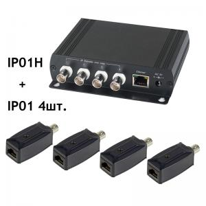 SC&T IP01K Комплект для передачи Ethernet