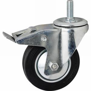 Набор роликовых опор с тормозом (4шт)