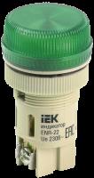 Лампа сигнальная ENR-22 зеленый неон