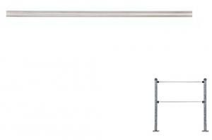 Горизонтальная перемычка (диаметр 25мм)  до L-1500мм ХРОМ (Ростов-Дон)