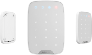 Ajax KeyPad white Беспроводная клавиатура с сенсорными кнопками