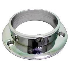 Консоль-крепление к плоскости D=50мм хром