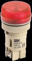 Лампа сигнальная ENR-22 красный неон