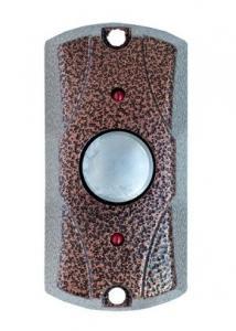 FE-100 Кнопка вандалозащищенная ( Медный антик )