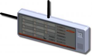 ВС ПК ВЕКТОР Прибор приемно-контрольный охранно-пожарный адресный радиоканальный