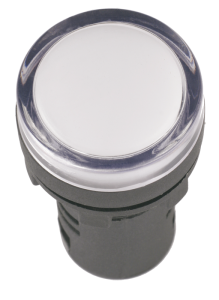 Лампа AD22DS (LED)  d22мм белый 230В ИЭК