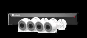 Комплект Ezviz 4CH (POE) CS-BN3424A0-E30