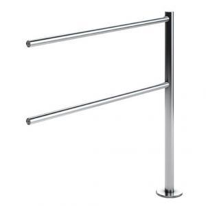 Поручни, длина 940мм(L=1000), труба ф 32мм нерж.сталь ВЗР 1996.05.0.000-02
