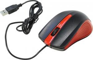 Мышь OKLICK 225M оптическая проводная USB, черный