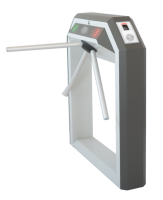 Тумбовая сетевая электронная проходная «STR-04FЕ» со встроенным биосканером