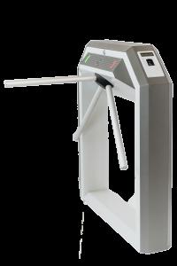 Тумбовая сетевая электронная проходная «STR-04UFЕ» со встроенным биосканером