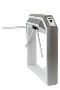 Тумбовая сетевая электронная проходная «STR-04UFM» со встроенным биосканером