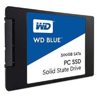 """SSD накопитель WD Blue WDS500G2B0A 500 Гб, 2.5"""", SATA III"""