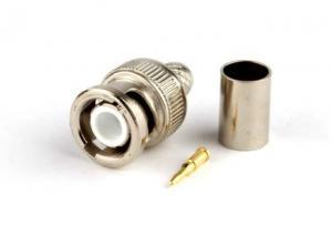 Штекер BNC APBC13-RG59 для кабеля (под обжим)