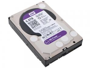 Накопитель HDD 6000 GB (6 TB) Purple (WD60PURX)