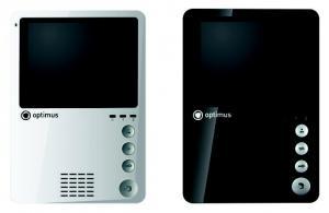 Монитор домофона Optimus VM-4 (w)