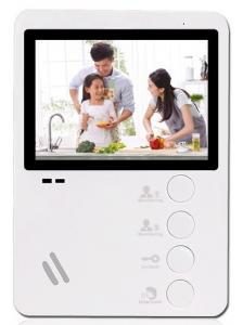 Видеодомофон Optimus VM-E4 (w)