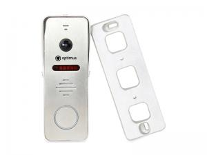 Панель видеодомофона Optimus DSH-1080 (сереб.)