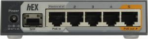 Роутер MikroTik RouterBOARD hEX S RB760iGS 5 x RJ45