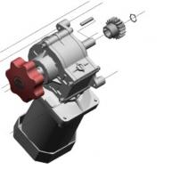 Мотор-редуктор с расцепителем BR-10