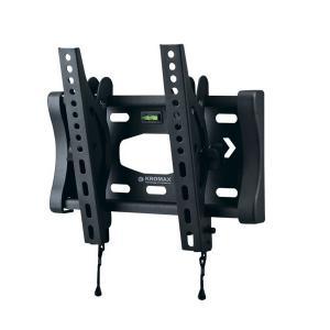 Кронштейн KROMAX FLAT-6, для телевизора, 15'' - 37'', до 25кг, темно-серый