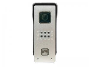 Панель видеодомофона Optimus DS-720W (сереб.)