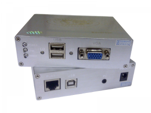"Osnovo TA-VKM/3+RA-VKM/3(ver.2) Комплект (приемник + передатчик) для передачи VGA, Клавиатура, ""Мышь"