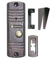 Панель видеодомофона Optimus DS-700 (медь)